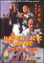 Martial Arts Master Wong Fai Hung