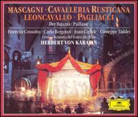 Mascagni: Cavalleria Rusticana; Leoncavallo: Pagliacci; Intermezzi - Adriane Martino (vocals); Carlo Bergonzi (vocals); Fiorenza Cossotto (vocals); Giangiacomo Guelfi (vocals);...