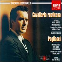 Mascagni: Cavalleria rusticana; Leoncavallo: Pagliacci - Adriana Lazzarini (vocals); Angelo Mercuriali (tenor); Corinna Vozza (mezzo-soprano); Franco Corelli (tenor);...