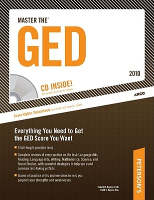 Master the GED - 2010: With CD-ROM; Everything You Need to Get the GED Score You Want - Kaprov, Ronald M, and Kaprov, Steffi R