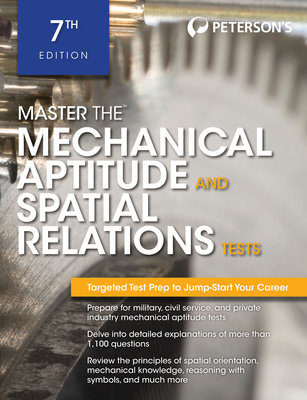 Master the Mechanical Aptitude and Spatial Relations Test - Peterson's, and DeAngelis, Therese (Editor)
