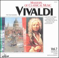 Masters of Classical Music: Vivaldi - Budapest Strings; Burkhard Glaetzner (oboe); Christine Schornsheim (harpsichord); Kurt Sandau (corno d);...