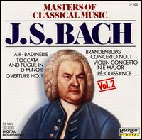 Masters of Classical Music, Vol. 2: Bach - Andrea Vigh (harp); Christian Altenburger (violin); Frank Berger (trumpet); Franz Just (lute); Friedrich Kircheis (organ);...