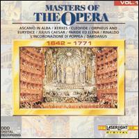 Masters of the Opera, Vol. 1, 1642-1771 - Alain Zaepffel (counter tenor); Boris Christoff (bass); Budapest Philharmonic Orchestra; Bulgarian Radio Symphony Orchestra;...
