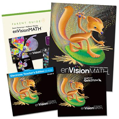 Math 2011 Homeschool Bundle Grade 6 -