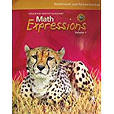 Math Expressions: Homework and Remembering Consumable Volume 1 Level 5 - Houghton Mifflin Company (Prepared for publication by)