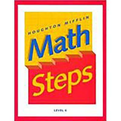 Math Steps: Student Edition Grade 6 2000 - Houghton Mifflin Company (Prepared for publication by)