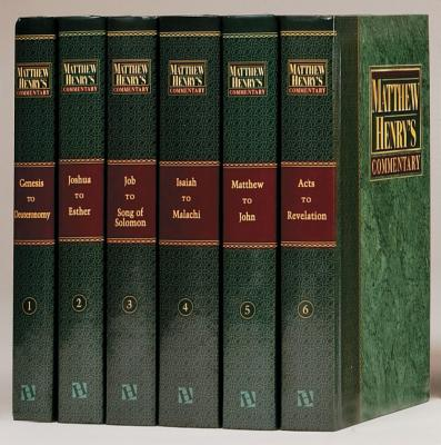 Matthew Henry 6v No CD Plain: Complete and Unabridged in 6 Volumes - Henry, Matthew, Professor