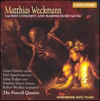 Matthias Weckmann: Sacred Concerti and Harpsichord Music - Julian Podger (tenor); Kati Debretzeni (violin); Paul Agnew (tenor); Purcell Quartet; Robert Woolley (harpsichord);...