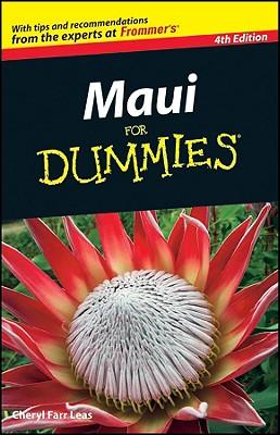 Maui for Dummies - Leas, Cheryl Farr