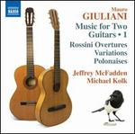 Mauro Giuliani: Music for Two Guitars, Vol. 1