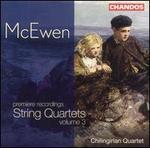 McEwen: String Quartets, Vol. 3