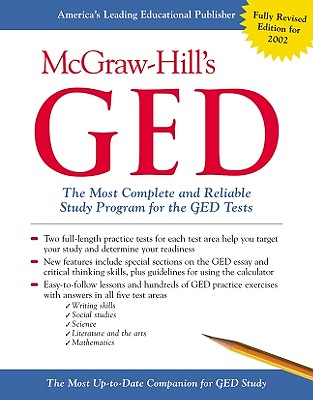 McGraw-Hill's GED: The Most Complete and Reliable Study Program for the GED Tests - Mulcrone, Patricia (Editor)