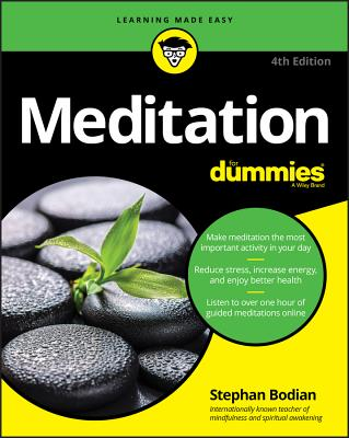 Meditation for Dummies - Bodian, Stephan