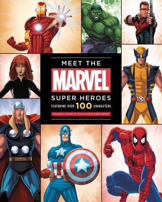 Meet the Marvel Super Heroes - Peterson, Scott