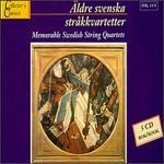 Memorable Swedish String Quartets, Vol. 1