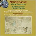 Mendelssohn: A Midsummer Night's Dream/Violin Concerto