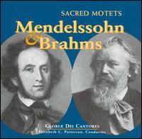 Mendelssohn & Brahms: Sacred Motets - Amy Ford (vocals); Br. Paul Norman (vocals); Christine Helfrich (vocals); James E. Jordan, Jr. (organ);...