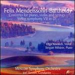 Mendelssohn: Concerto for piano & violin/Symphony 7