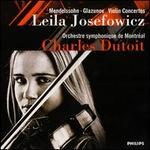 Mendelssohn & Glazuvov: Violin Concertos