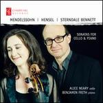 Mendelssohn, Hensel, Sterndale Bennett: Sonatas for Cello & Piano