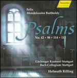 Mendelssohn: Psalms Nos. 42, 98, 114 & 115