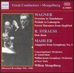 Mengelberg: Wagner; R. Strauss; Mahler