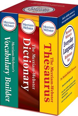 Merriam-Webster's Everyday Language Reference Set - Merriam-Webster Inc