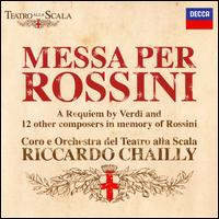 Messa per Rossini: A Requiem by Verdi and 12 Other Composers in Memory of Rossini - Giorgio Berrugi (tenor); María José Siri (soprano); Riccardo Zanellato (bass); Simone Piazzola (baritone);...