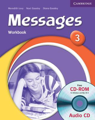 Messages 3 Workbook with Audio CD/CD-ROM - Levy, Meredith, and Goodey, Diana, and Goodey, Noel