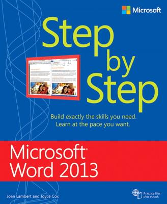 Microsoft Word 2013 Step by Step - Lambert, Joan