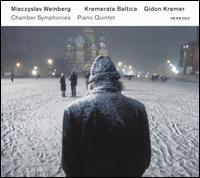 Mieczyslaw Weinberg: Chamber Symphonies; Piano Quintet - Andrei Pushkarev (tympani [timpani]); Andrei Pushkarev (percussion); Andrei Pushkarev (triangle);...