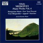 Mihály Mosonyi: Piano Works, Vol. 4