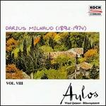 Milhaud: Music for Wind Instruments, Vol. 8