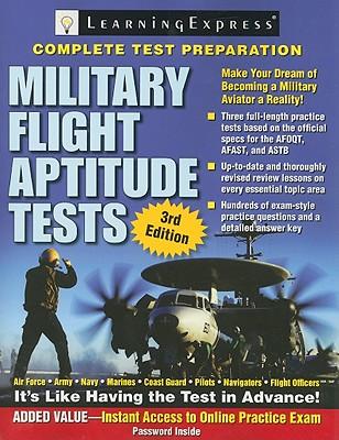 Military Flight Aptitude Tests - Learning Express LLC