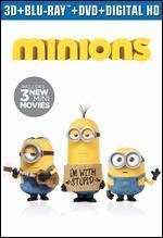 Minions [3D] [Includes Digital Copy] [Blu-ray/DVD] [2 Discs]
