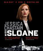 Miss Sloane [Blu-ray/DVD] [2 Discs]