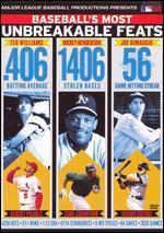 MLB: Baseball's Most Unbreakable Feats -