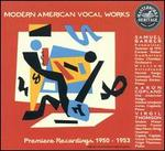 Modern American Vocal Works