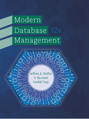 modern database management This print textbook is available for students to rent for their classes the pearson  print rental program provides students with affordable access.