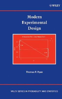 Modern Experimental Design - Ryan, Thomas P