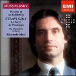 Modest Mussorgsky: Pictures at an Exhibition; Igor Stravinsky: Le Sacre du Printemps