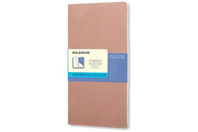Moleskine Chapters Journal, Slim Large, Dotted, Old Rose, Soft Cover (4.5 X 8.25) - Moleskine