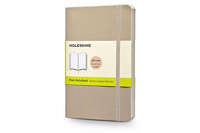 Moleskine Classic Small Plain Notebook: Khaki Beige - Moleskine