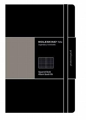 Moleskine Folio Professional Notebook, A4, Squared, Black, Hard Cover (8.25 X 11.75) - Moleskine (Creator)