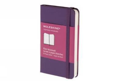 Moleskine Plain Extra Small Purple Notebook - Moleskine