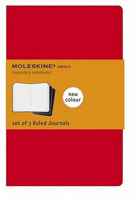 Moleskine Ruled Cahier Journal X-Large, Red - Moleskine