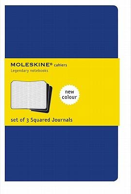 Moleskine Squared Cahier Journal X-Large, Blue - Moleskine
