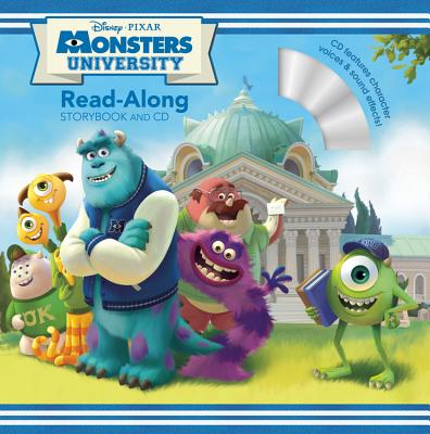 Monsters University Read-Along Storybook - Glass, Calliope (Adapted by)