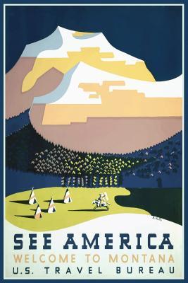 Montana, USA Journal: Blank Notebook Diary Memoir Log Logue - Services, N D Author